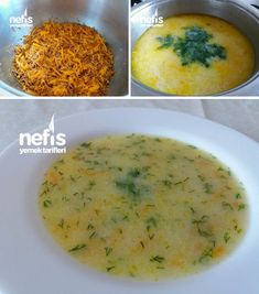 Terbiyeli Şehriye Çorbası – Nefis Yemek Tarifleri – Samiye Dilmac – Çorba Tarifleri – Las recetas más prácticas y fáciles Turkish Recipes, Italian Recipes, Ethnic Recipes, Seafood Recipes, Soup Recipes, Noodle Recipes, Yummy Recipes, Turkish Kitchen, Fish And Meat
