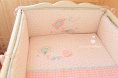 İpek bebeğin yatak yan koruması...