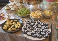 Mad Hatter's Party food