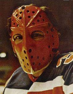 Goalie Mask, Canada Images, Good Old Times, Hockey Goalie, Cool Masks, Masked Man, Edmonton Oilers, Mask Design, Vintage Men