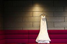 Modern Wedding Dress. Modern Wedding Photography by Carly Loves Amos. http://www.carlylovesamos.com