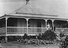 old times Australian Architecture, Australian Homes, Historical Architecture, Glasshouse Mountains, Paranormal Romance Series, Queenslander, Homesteads, My Dream Home, Balmain