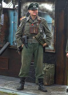 Reenactment: German Soldier (World War II)                                                                                                                                                                                 More