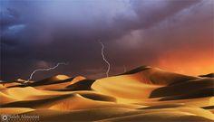 Desert Saudi Arabia, #Desert, #Landscapes & #Scenery