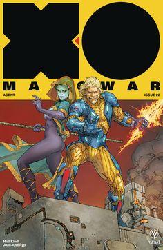 X-O Manowar Variant - Kenneth Rocafort Comic Book Artists, Comic Artist, Comic Books, Book Cover Art, Comic Book Covers, Character Creation, Character Art, Valiant Comics, Man Of War