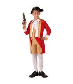 El disfraz de Soldado Inglés incluye: Chaqueta con camisa, pantalón corto, sombrero y bufanda. Artículo nº: 6739 14,50 €