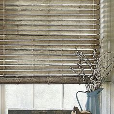 "Custom 2"" Distressed Wood Blind - jcpenney"