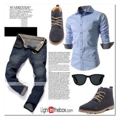 """Man up"" by nerma10 ❤ liked on Polyvore featuring Barton Perreira, men's fashion and menswear"