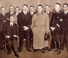 Hitler, Goering, Himmler and some other Nazi Party's members.