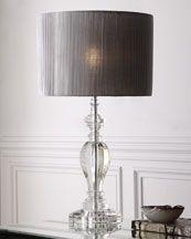 Nice Crystal Organza Pleated Lamp