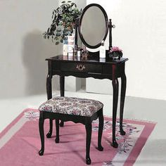 modern vanity table with mirror and bench. Lady s Vanity with Gold Inlay and Flip Up Mirror Top by Tommi Parzinger  From a unique collection of antique modern vanities at https www 1s