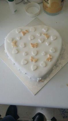 Mom and Dad 25th Wedding Anniversary cake