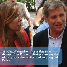 Sánchez-Camacho insta a Mas a no desaprovechar la oportunidad para señalar a los responsables políticos del saqueo del Palau