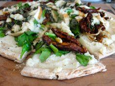 SECRET LOW-SODIUM CAULIFLOWER WHITE SAUCE PIZZA and CRISPY LOW SODIUM PIZZA CRUST