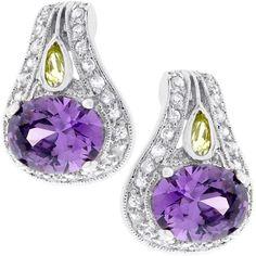 Majestic Amethyst Earrings