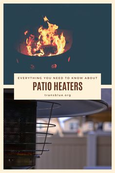 Patio Heaters: 5 Things You Should Know Before You Buy - Transblue Deck Heaters, Propane Patio Heater, Natural Gas Patio Heater, Patio Decorating Ideas On A Budget, Wood Burning Fires, Outdoor Life, Backyard Ideas, Design Inspiration, Outdoor Furniture