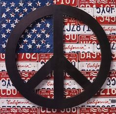 American Flag Peace Sign - Pop Art Poster by Aaron Foster x Hippie Peace, Hippie Love, Hippie Chick, Hippie Style, Peace On Earth, World Peace, Peace Love Happiness, Peace And Love, Peace Sign Art