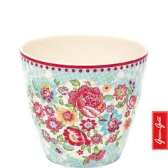Greengate latte cup Maggie blue