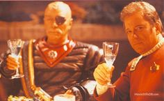 Star Trek: The Undiscovered Country - Publicity still of Christopher Plummer & William Shatner. The image measures 1280 * 790 pixels and was added on 13 November Star Trek Vi, Star Wars, Christopher Plummer, Christopher Reeve, Star Trek Movies, Star Trek Original, William Shatner, Nerd Love, Sci Fi Fantasy