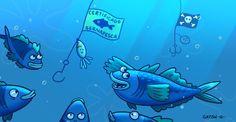 El 90% de peces grandes depredadores ya se han agotado y el 29% del total de especies de mar están sobreexplotadas