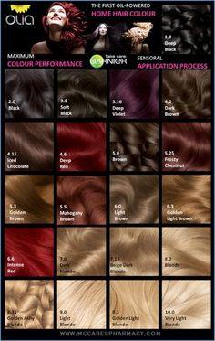 Garnier Saç Boyası Renkleri 2014-2015,Garnier Olia Saç Boyası Renkleri