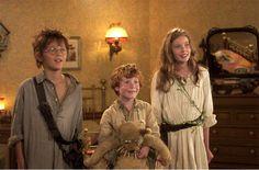 peter pan (2003) Wendy, John, and Michael