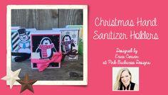 Christmas Hand Sanitizer Holders