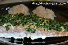 #Salmon #fillet with #herbs Filé de somon cu ierburi, la cuptor