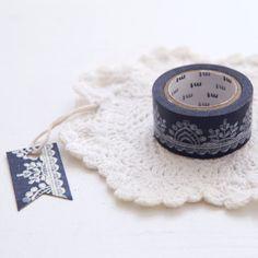 Black Lace Washi Tape