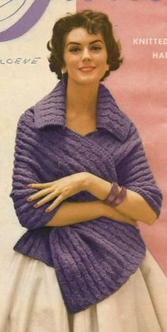 This is a great vintage knitting pattern is for a shawl called ADAGIO. It calls for knitting worsted weight yarn. This is for the copy of the original pattern from my private collection and not the finished product. Knitting Patterns Free, Knit Patterns, Free Knitting, Vintage Patterns, Free Pattern, Crochet Poncho, Knitted Shawls, Free Crochet, Vogue Knitting