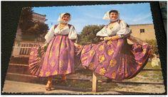Italia - Italy Costumi Costume Sardi Sardinia Bono Fotocelere - unused