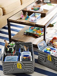 Tips for an Organized Summer Break & Kid's Stations Around the House