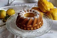 Mini bundt cake de limón sin glúten ni azúcar   Cocinar en casa es facilisimo.com