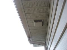 Ordinaire What Are Your Thoughts On Soffit Vent Bath Fan Exhausts? What Is The .