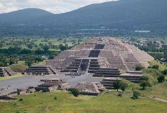 Le piramides de Teotihuacan have perded le 40% de su murs