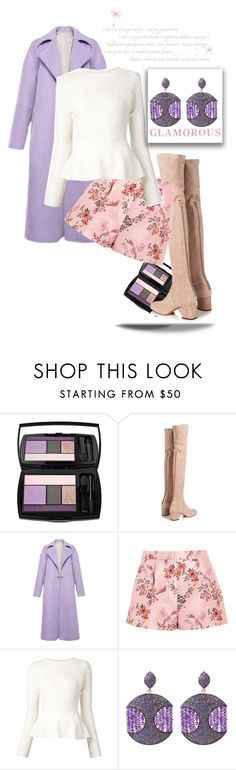 """Untitled #1119"" by cranetattoo on Polyvore featuring Lancôme, Valentino, STELLA McCARTNEY, Oscar de la Renta and Latelita"