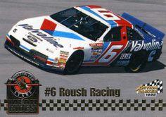 RARE 1995 PINNACLE ACTION PACKED MEAN RIDES #6 ROUSH RACING MARK MARTIN MINT