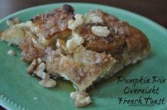Pumpkin Pie French Toast Casserole Recipe - Just Us Four