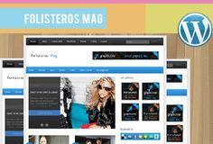 Responsive Theme database for free responsive wordpress themes – Folisteros Mag