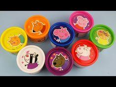 NEW Frozen Toys Fashems Zelfs Play Doh Surprise Eggs Blind Bags Juguetes de Huevos de Plastilina - YouTube