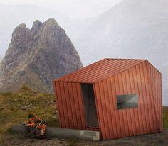 Riccardo Sanquerin · Abitare minimo nelle Alpi · Divisare