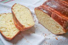 J'ai trouvé cette recette sur la petite cuisine de Giroflet et avec la machine à pain en deux heures, c'était fait. C'est quand même pratique une MAP :) I n g r é d i e n t s : 20 g de levure de boulanger fraîche (je n'arrive jamais à rien avec les sachets...