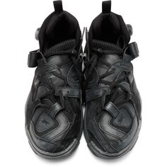 e5acab222f8b05 Vetements - Black Reebok Edition Genetically Modified Pump High-Top Sneakers