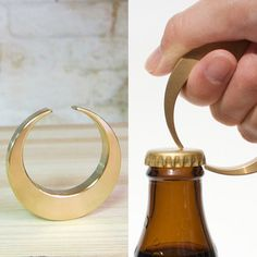 This Oji Masanori designed crescent bottle opener is great for anyone who can appreciate good design and who also tends to be thirsty.