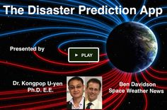 THE DISASTER PREDICTION APP - Ben Davidson & Kongpop U-yen