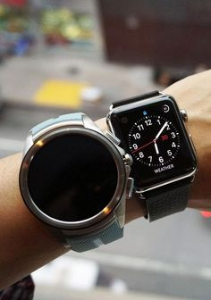 The LG Watch Urbane compared to the Apple Watch