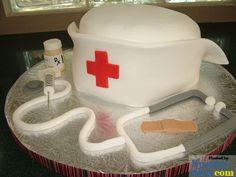 Nursing school cake   #brandman