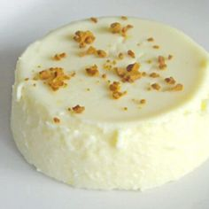 Ginger-Lemon Panna Cotta - This custard-based dessert is fancy enough for company, but so easy to make, you could have it any day! Get this dessert recipe from @itsyummi at itsyummi.com