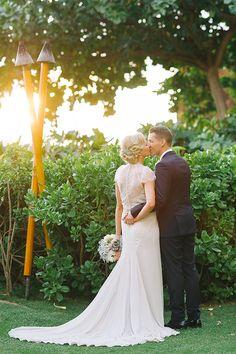 Sheraton Hotel Maui Hawaii wedding photography