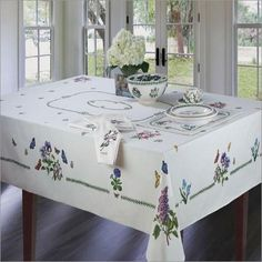 Portmeirion Botanic Garden Tablecloth